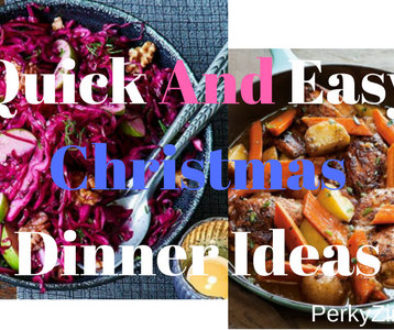 Quick and easy Christmas dinner ideas