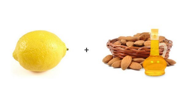 lemon almond oil how to get beautiful skin naturally overnight