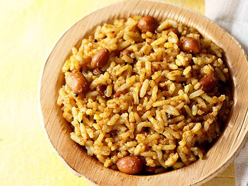 Tamarind rice south indian lunch menu for party