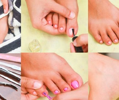How To Do Pedicure At Home With Home Ingredients
