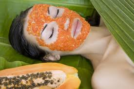 papaya for pimple marks