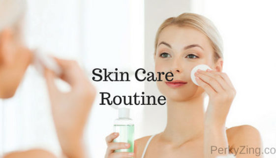 daily skin care routine at home for oily skin, dry skin and combination skin